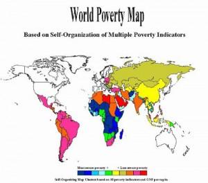 pobreza20mundo20mapa
